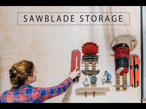four Store Organizing Initiatives – Blade Storage, Battery Charging System, Storage Racks