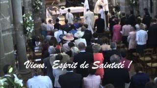 Viens Esprit de Sainteté (avec paroles / with lyrics - 27 septembre 2014)