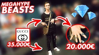 40.000€ OUTFIT!!! 😱💸 DIAMANT RINGE 💎🔥WIE VIEL IST DEIN OUTFIT WERT 🔥💸 | STREET UMFRAGE | PremeTV