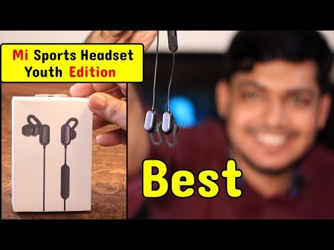 Mi Sports Bluetooth Earphones Basic Youth Edition Unboxing & Review ⚡Ban...
