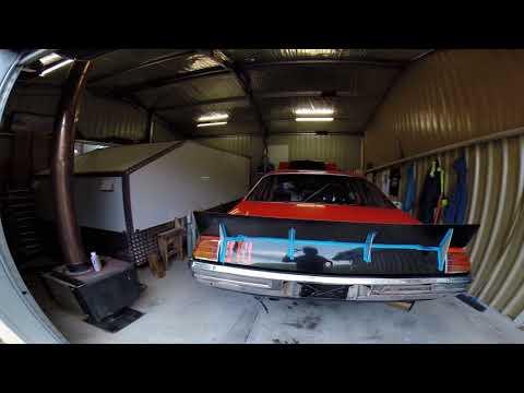 NASCAR INSPIRED REAR SPOILER