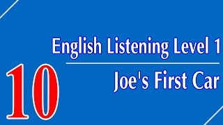 English Listening Level 1 - Lesson 10 - Joe