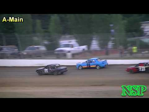 July 8, 2017 Outlaw Tuners A-Main Grays Harbor Raceway