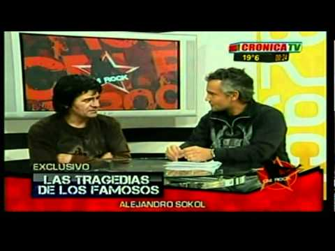 TRAGEDIA DE FAMOSOS -CRONICA TV - ALEJANDRO SOKOL  (35 PARTE)