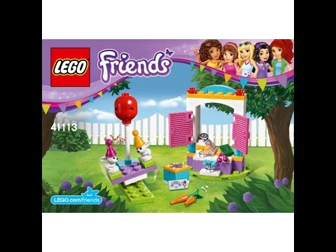 Лего Френдс 41101 Инструкция По Сборке - фото 11