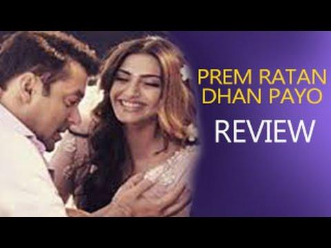 Prem Ratan Dhan Payo Movie Review | Salman Khan, Sonam Kapoor - YouTube