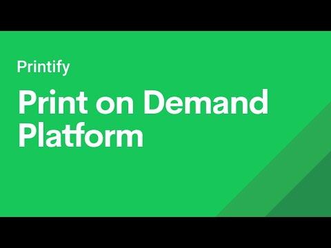 Printify - Dropshipping Print On Demand Platform Explained