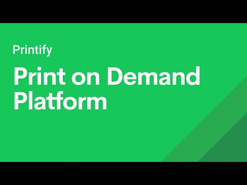 Printify - Dropshipping Print On Demand Platform Explained thumbnail