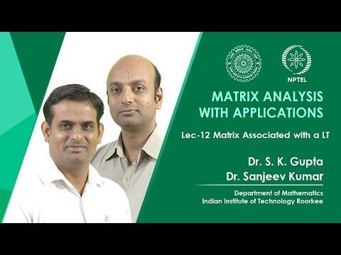 Matrix Associated with a LT