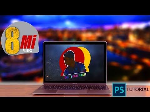 Stylist Logo PhotoShop Tutorial 2020 || (বাংলায়) Adobe PhotoShop 2020 Tutorial thumbnail