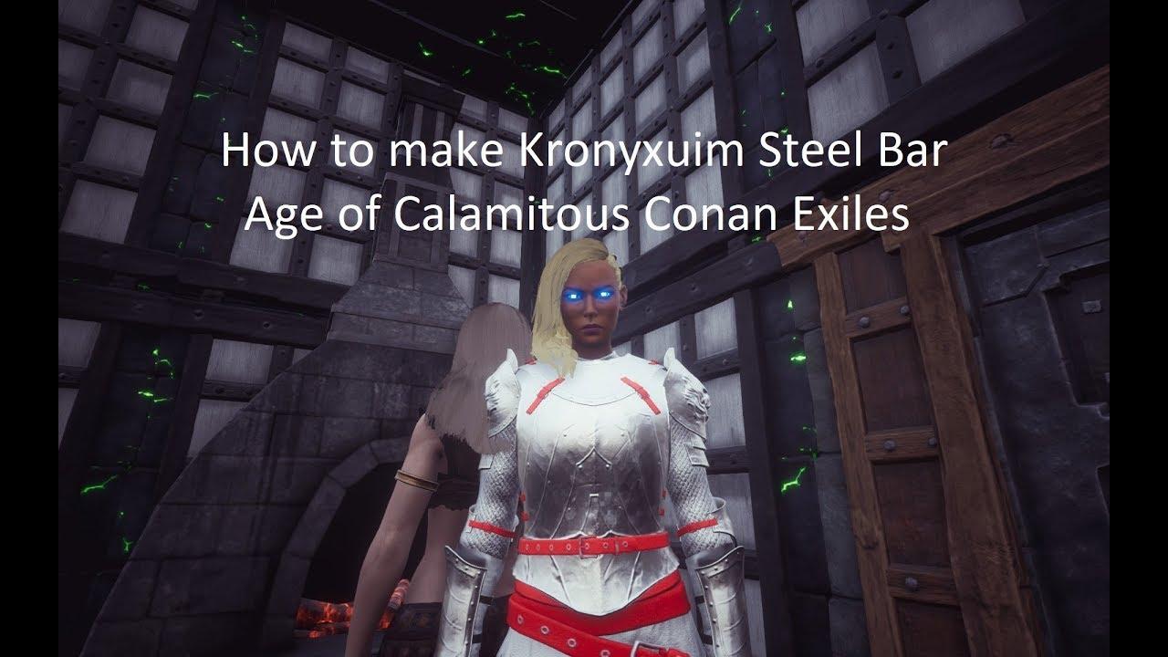 Age of Calamitous Conan Exiles Kronyxium Steel Bar