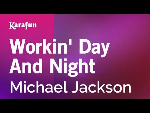 Karaoke Workin' Day And Night - Michael Jackson *