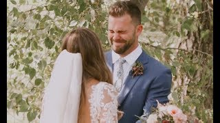 Groom's Reaction When He Sees His Bride is Priceless | Wild Oak Films
