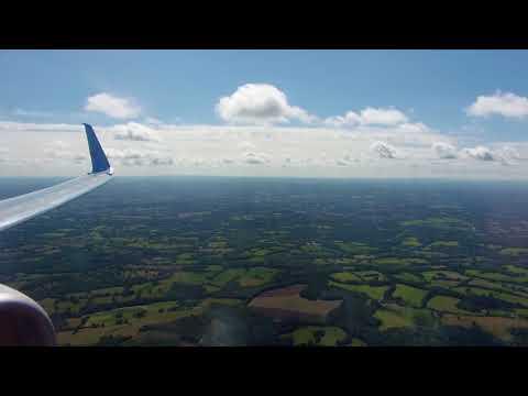"""Sunny Morning Approach"" *HARD LANDING* | Thomson 737-800 landing in Gatwick"