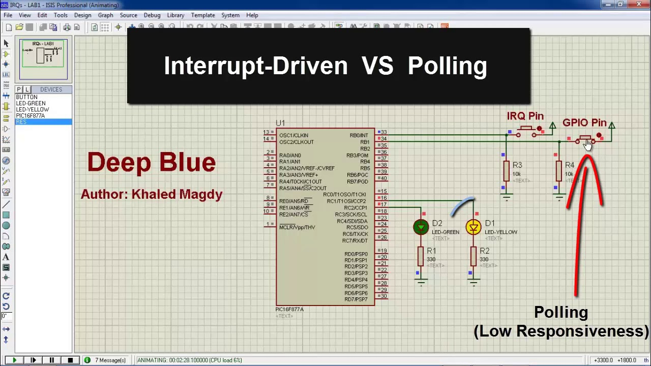 Interrupts In PIC Microcontrollers – Embedded Systems Tutorials