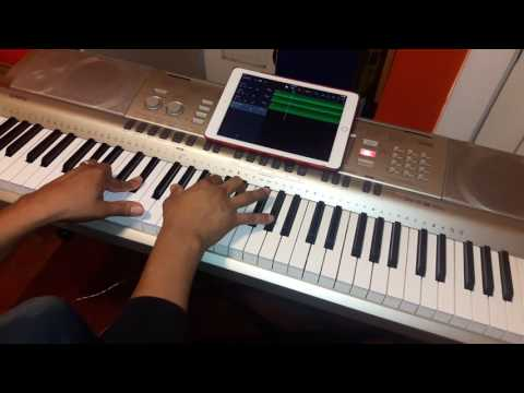 Dios de lo Imposible Marco Barrientos feat David Reyes y Chritine D'Clario tutorial de piano facil