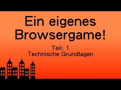 Wie Erstelle Ich Ein Browsergame? -  Teil 1