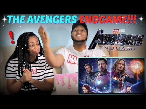 "Marvel Studios' ""Avengers: Endgame"" Official Trailer REACTION!!!"