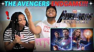 """Marvel Studios' """"Avengers: Endgame"""" Official Trailer REACTION!!!"""