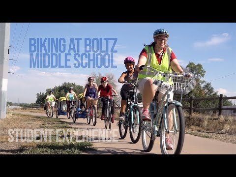 Student Experience: Bike Riding at Boltz Middle School