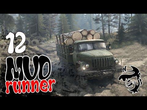 Spintires MudRunner ч12 - Первая партия Запустили лесопилку