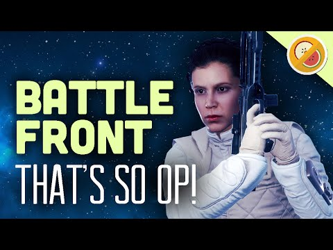 THAT'S SO OP : Star Wars Battlefront Co-Op Gameplay Funny Moments