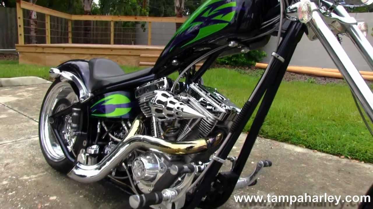2004 Big Dog Motorcycle Chopper Harley Davidson Of Tampa