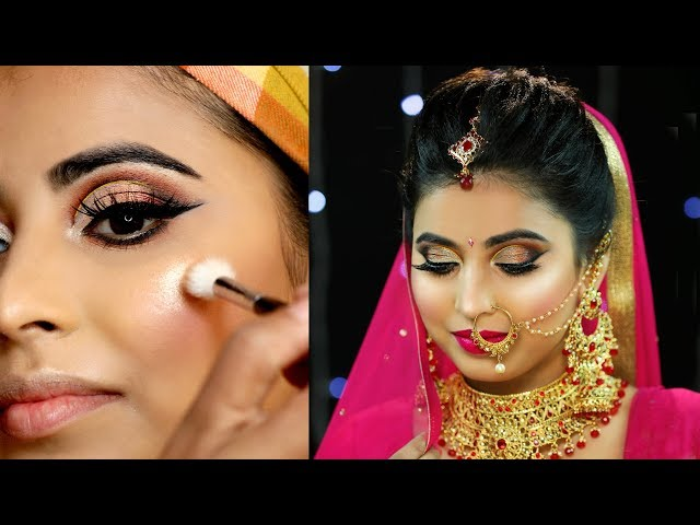 Indian BRIDAL Makeup - Episode 01   दुल्हन MAKEUP सीखें   Step By Step Tutorial   #Anaysa