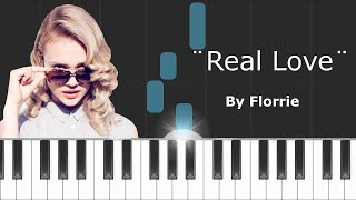 "Florrie - ""Real Love"" Piano Tutorial - Chords - How To Play - Cover"