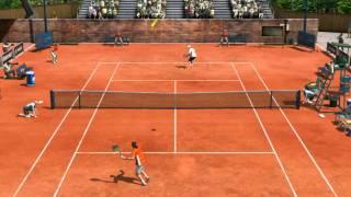 #1 Gameplay virtua tennis 4 pc ita