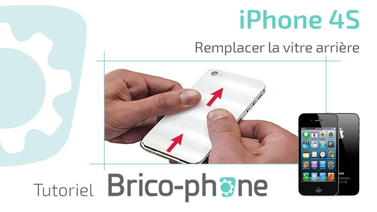 Tutoriel iPhone 4S : changer la vitre arrière