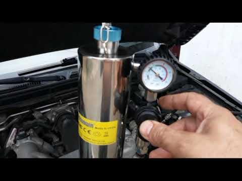Установка для промывки топливной системы двигателя без демонтажа