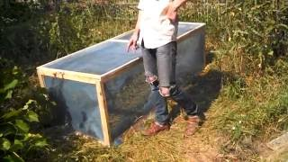 Как изготовить мини загон для улиток виноградных