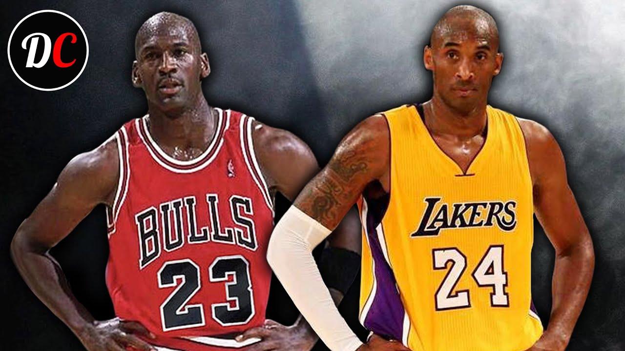 Kobe Bryant i Michael Jordan - który mistrz, a który legenda?