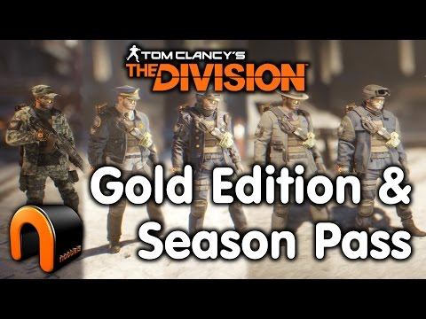 The Division Gold Edition Season Pass Outfits Youtube