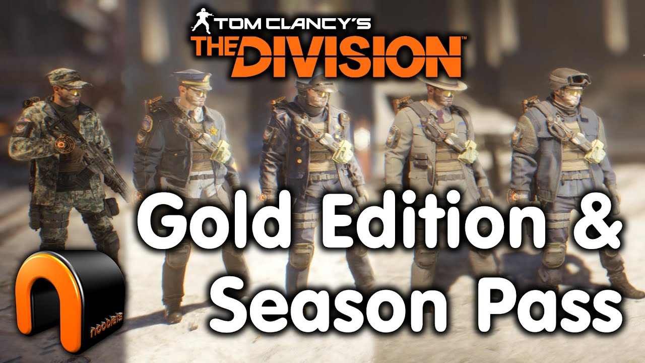 The Division Gold Edition Season Pass Outfits