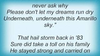 Jason Aldean - Amarillo Sky Lyrics