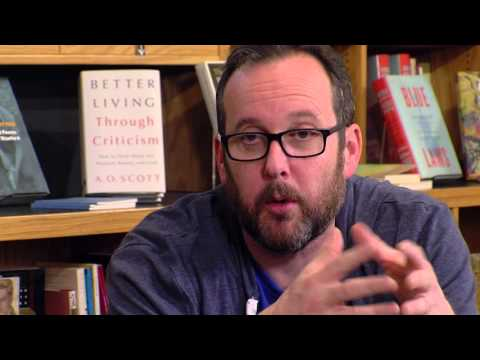 Book Lust with Nancy Pearl featuring A. O. Scott
