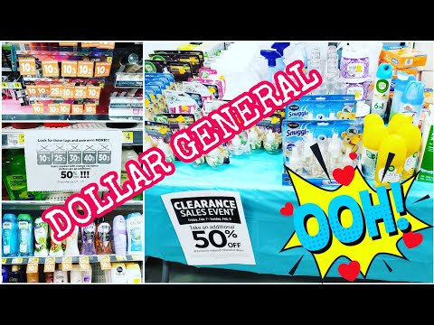 DOLLAR GENERAL SHOP WITH ME CLEARANCE SALE