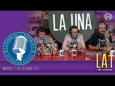 #LA1 - Las Aguaslocas de la Democracia - La Radio de la República - @ChumelTorres