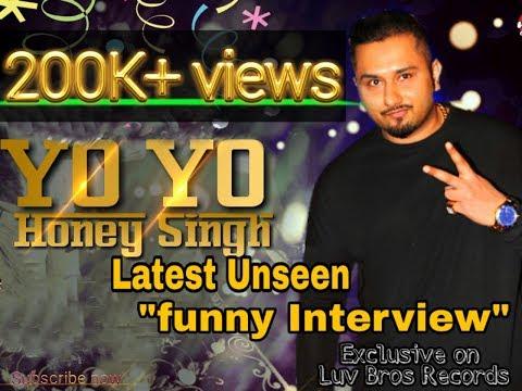 """Yo! Yo! Honey Singh""""Unseen Latest Interview"""""""