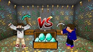 ELMAS vs DEMİR - MADEN CHALLENGE - Minecraft