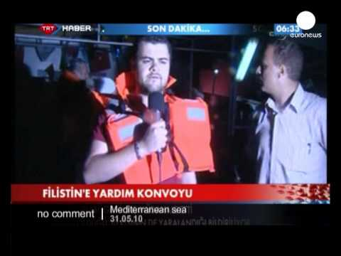 Israeli Ships Attack Gaza Aid Flotilla - No Comment