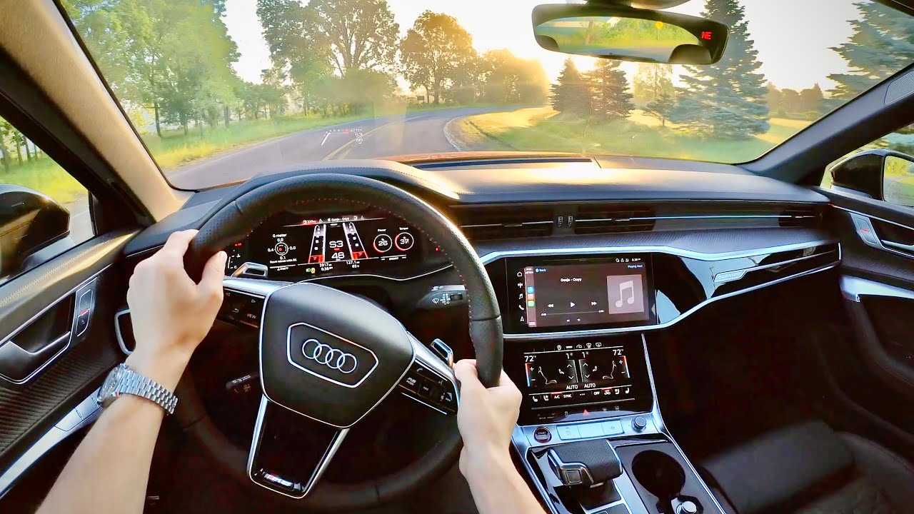 2021 Audi RS6 Avant - POV First Impressions