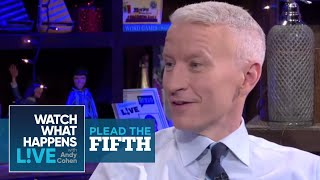 Kelly Ripa with Anderson Cooper | Plead the Fifth | WWHL