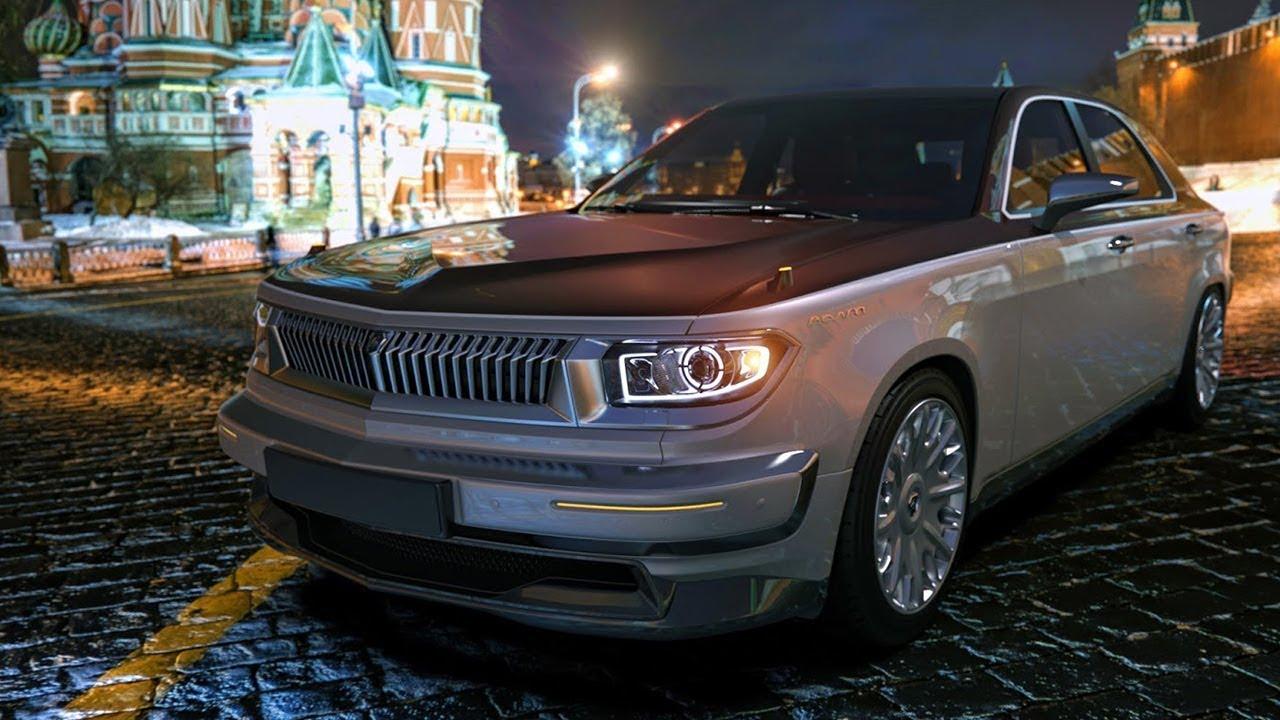 Новая Волга и тюнинг ГАЗ 24! - YouTube