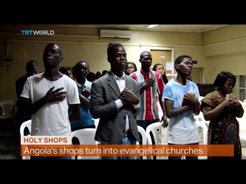 Money Talks: Empty Angolan shops used for church