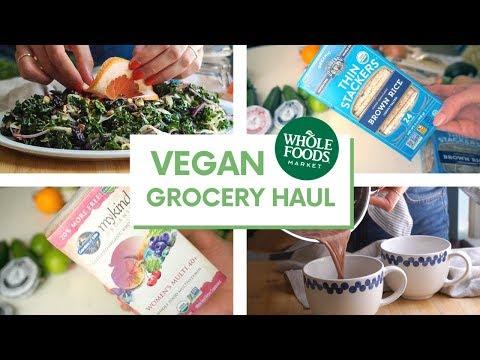 Healthy Vegan Grocery Haul + Easy Recipes ������������