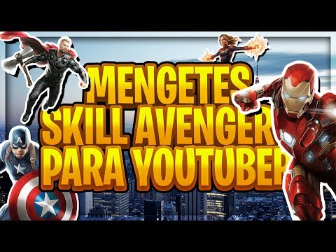 NGE-TES YOUTUBER2 ILMU MARVEL CINEMATIC UNIVERSE!!🔥 (Avengers)