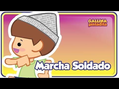 Marcha Soldado - Gallina Pintadita 1 - Oficial - Canciones infantiles para niños y bebés